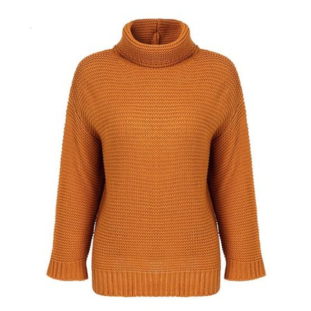 Turtleneck Pullover Sweater (5 Colors) – Mary Cheffer