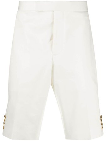 Thom Browne buttoned-detail Chino Shorts - Farfetch