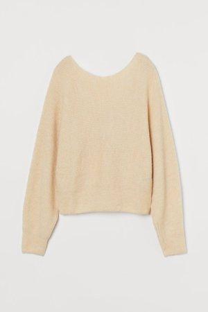 Jumper - Light beige - Ladies | H&M GB