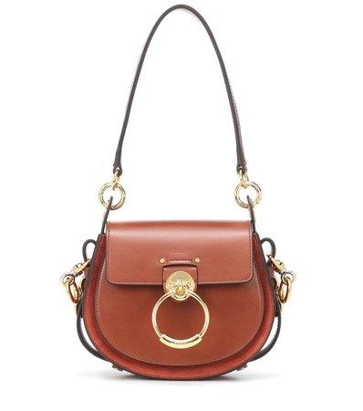 Tess Small Leather Shoulder Bag - Chloé | mytheresa
