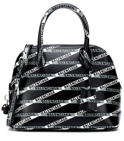 Ville S Monogramme leather tote