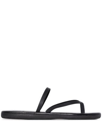Ancient Greek Sandals thong strap sandals black FLIPFLOPVACHETTA - Farfetch