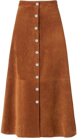 Gracelynn Suede Skirt