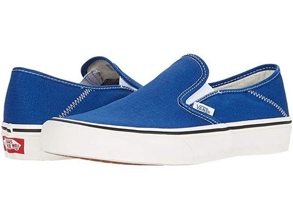 Vans Slip-On SF blue| Zappos.com