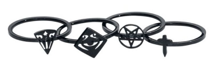 black knuckle rings