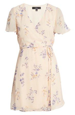 Fowler Floral Wrap Minidress | Nordstrom