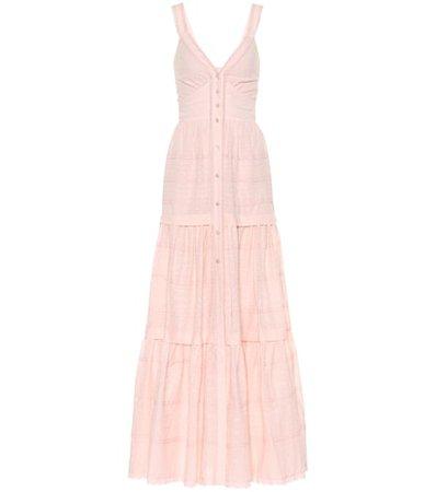 Beaux cotton maxi dress