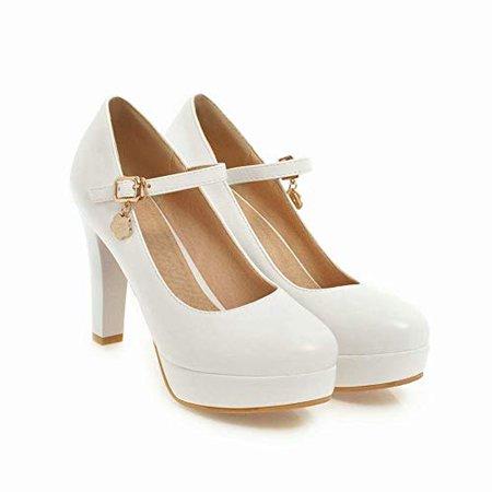 MissSaSa Femmes Escarpins Plateformes Fermetures Boucle: Amazon.fr: Chaussures et Sacs
