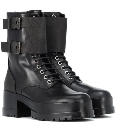 Willy leather ankle boots