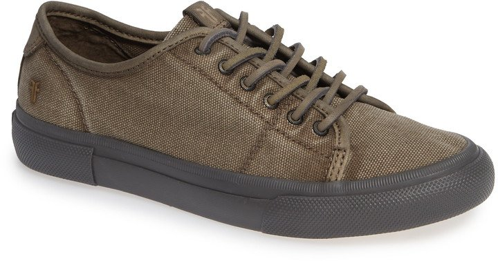 Gia Low Lace-Up Sneaker