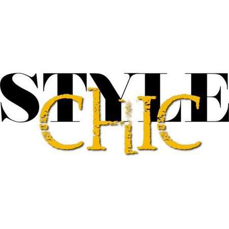 Style Chic Yellow Text