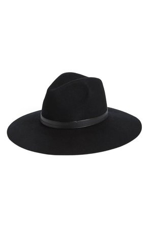 Sole Society Wide Brim Wool Hat | Nordstrom