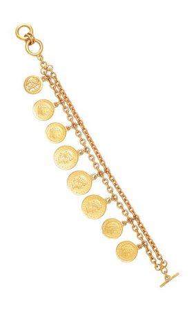 Gold-Plated Coin Bracelet By Ben-Amun | Moda Operandi
