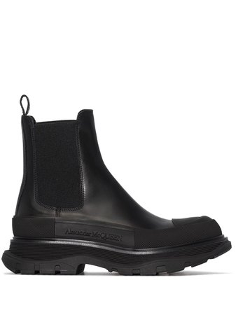 Alexander McQueen chunky-sole Chelsea Boots - Farfetch