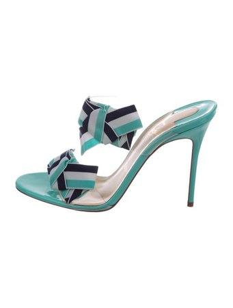 Christian Louboutin Delicanodo 100 Sandals w/ Tags - Shoes - CHT124946 | The RealReal