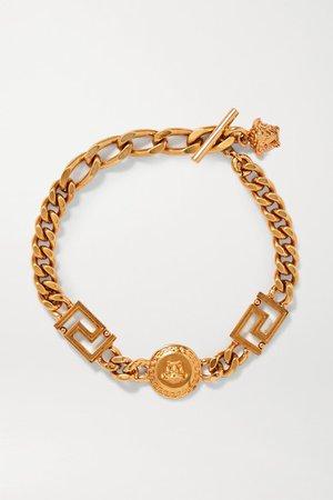 Versace | Gold-tone bracelet | NET-A-PORTER.COM