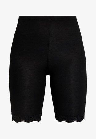 Topshop TRIM CYCLING - Shorts - black - Zalando.se