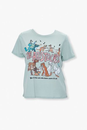 Plus Size The Aristocats Graphic Tee