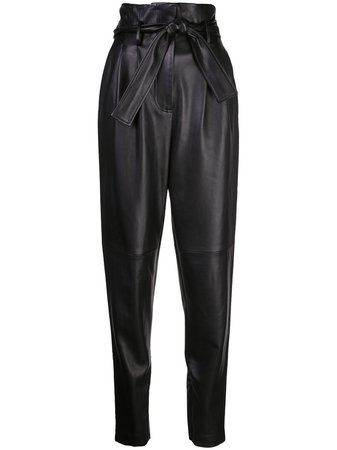 Adam Lippes high-waisted Tapered Trousers - Farfetch