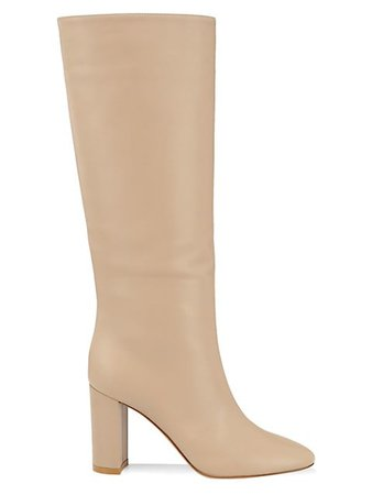 Gianvito Rossi Leather Knee-High Boots | SaksFifthAvenue