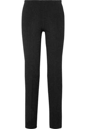 Alaïa   Cropped stretch-knit straight-leg pants   NET-A-PORTER.COM