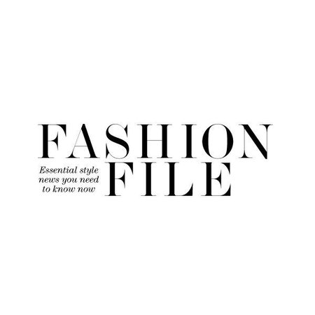 fashion file text