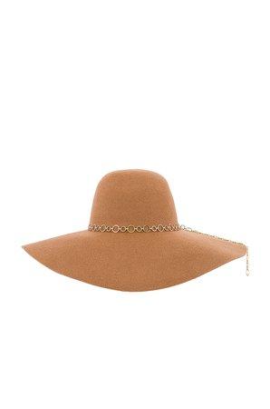 Eugenia Kim Bunny Hat in Camel   REVOLVE