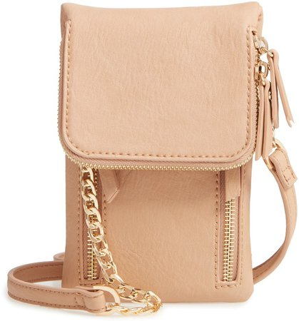 Riley Vegan Leather Crossbody Bag