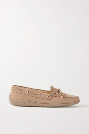 Gommino Suede Loafers - Brown