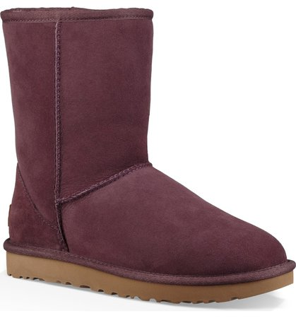 UGG® 'Classic II' Genuine Shearling Lined Short Boot (Women) | Nordstrom