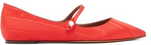 Hermione Crystal Mary Jane Flats - Womens - Red