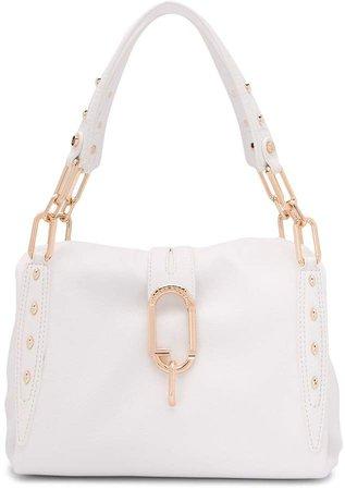 stud embellished tote bag