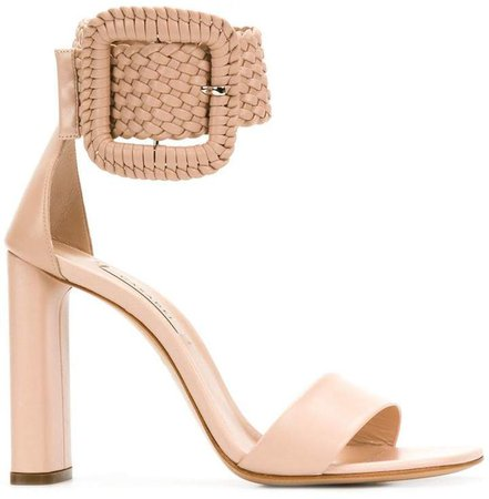 statement ankle buckle sandals