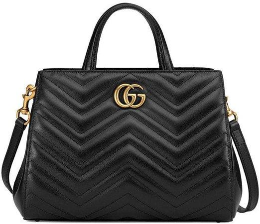 GG Marmont matelassé top handle bag
