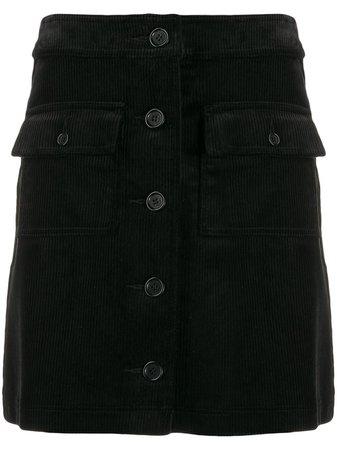 Ymc Corduroy Straight Skirt