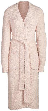 SKIMS Pink Knit Robe