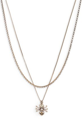 Alexander McQueen Spider Layered Necklace | Nordstrom