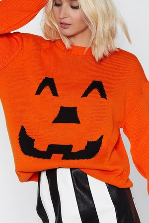 Pumpkin Spiced Babe Sweater | Shop Clothes at Nasty Gal!