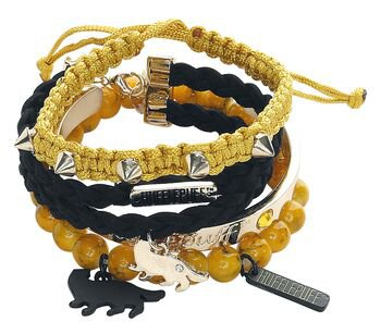 Hufflepuff | Harry Potter Bracelet Set | EMP