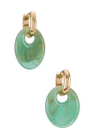 8 Other Reasons Gold & Blue Earring in Blue   REVOLVE