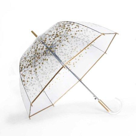 Shedrain Bubble Umbrella Gold Dots