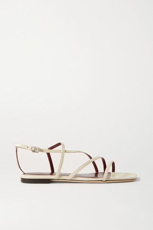 Gitane Leather Sandals - Cream