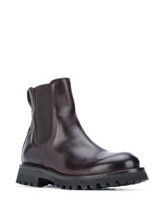 MOMA calf leather boots - FARFETCH