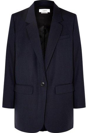 Isabel Marant Étoile | Nerix houndstooth wool blazer | NET-A-PORTER.COM