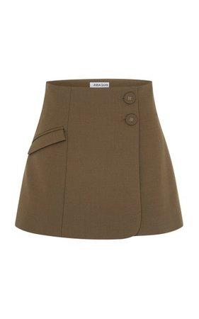 Jenna Crepe Mini Skirt By Anna Quan | Moda Operandi