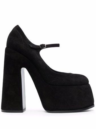 Casadei Buckled high-heel Pumps - Farfetch