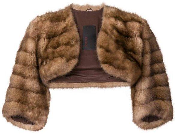 Liska fur bolero jacket