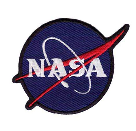 "Amazon.com: 1 X "" NASA "" Iron On Patch Blue"