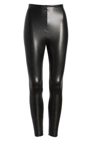 Commando Faux Leather Ankle Leggings | Nordstrom
