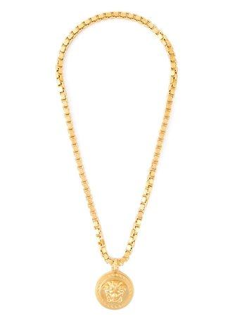 Versace Halsband Med Medusa-hänge - Farfetch